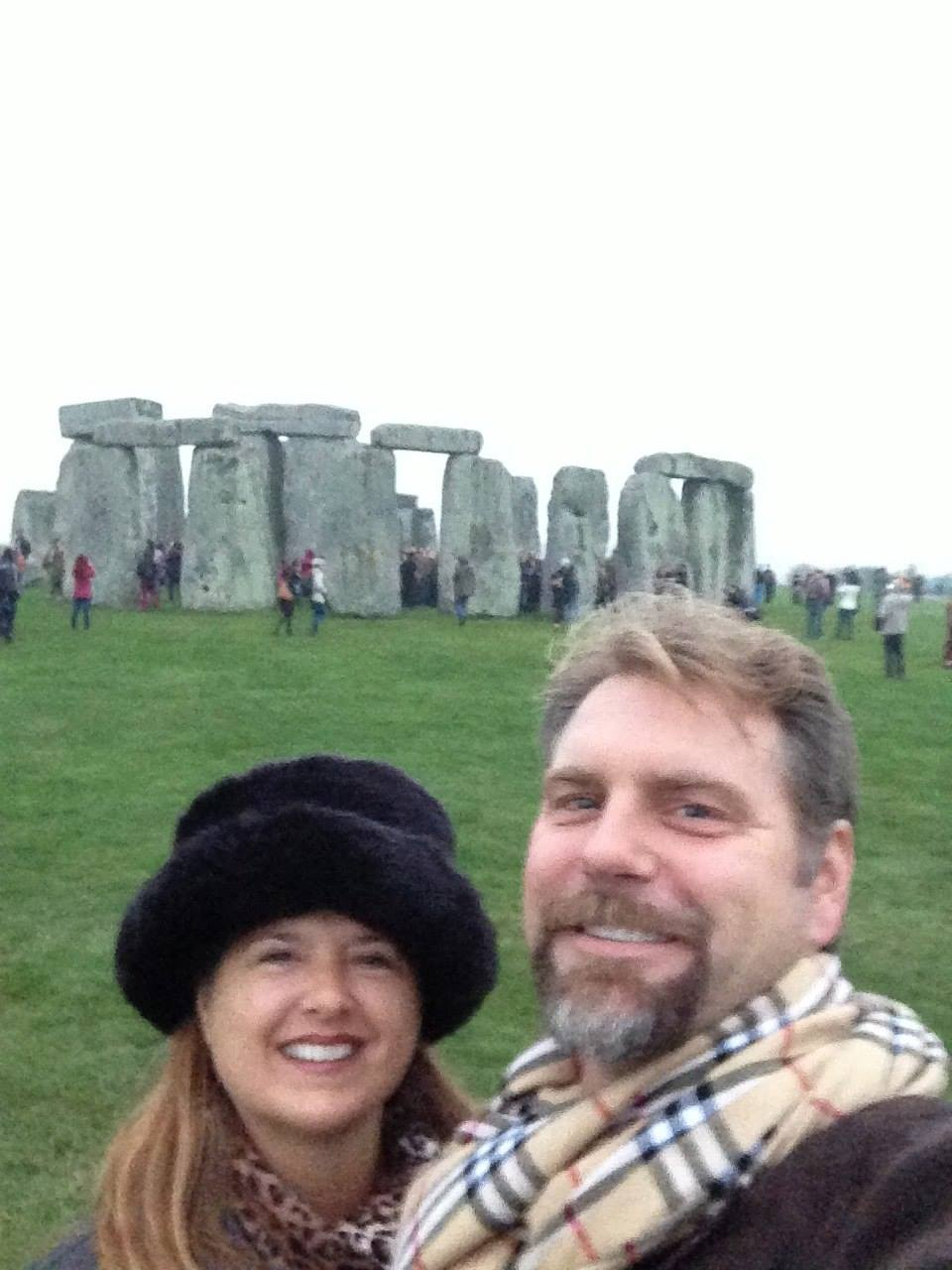 Stonehenge, Dancing With the Druids At Sunrise!