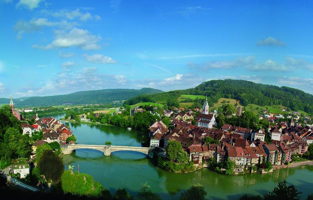 Laufenburg Baden und Schweiz